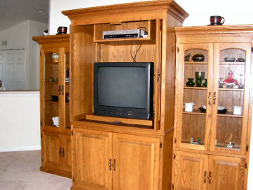 Living Area Entertainment Center